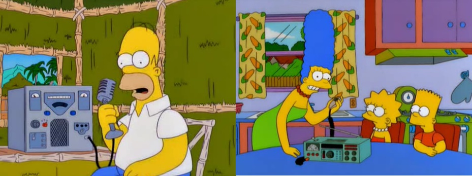 The Simpsons in Amateur Radio