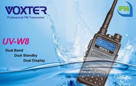 VOXTER UV-W8 VHF and UHF