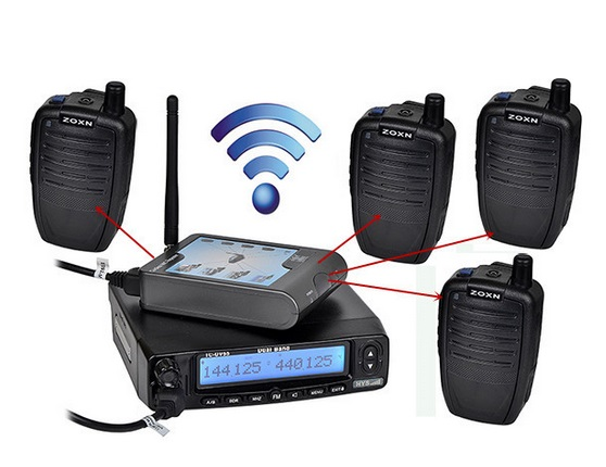 WireLess Microphone for Mobile Ham