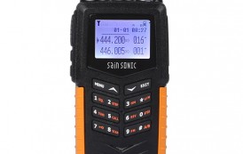 SainSonic RST599 Dual Band 136-174/400-520MHz Two-Way Ham Radio IP66 Waterproof