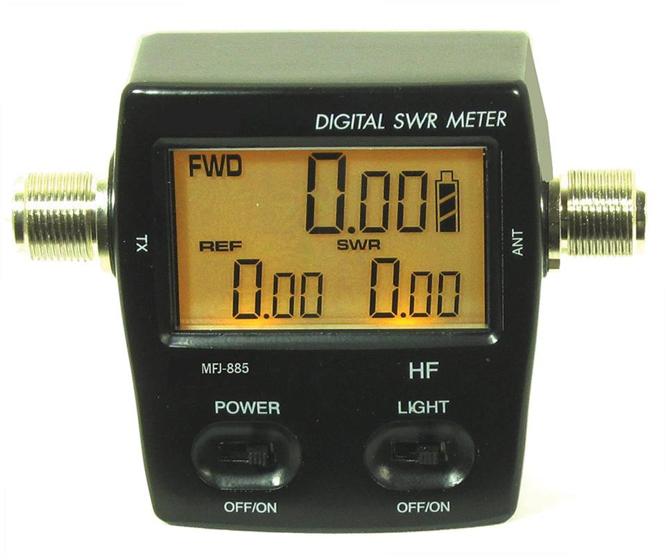 New MFJ Digital SWR / Wattmeters – MFJ-845/847