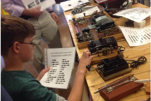 Sandford Mill celebrate the inventor of radio at Marconi Day
