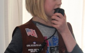 """""""Thinking Day"""" Activity Gets Girl Scouts Thinking About Ham Radio"""