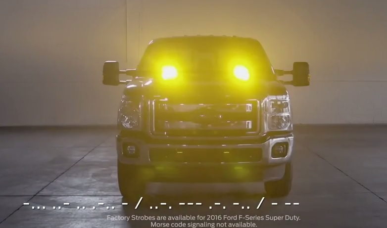 Happy Morse Code Day from Ford