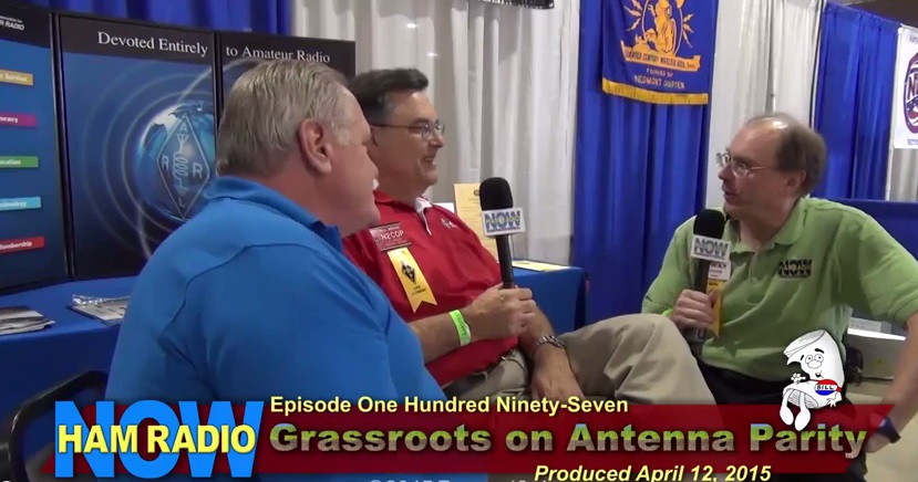 Grassroots on Antenna Parity on Ham Radio Now