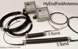 HyEndFed 5 band 80/40/20/15/10 Antenna