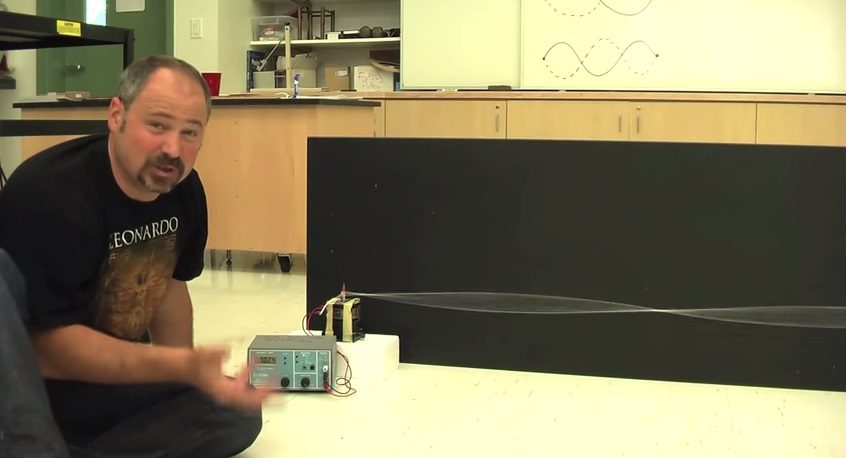 Standing Waves Part I: Demonstration