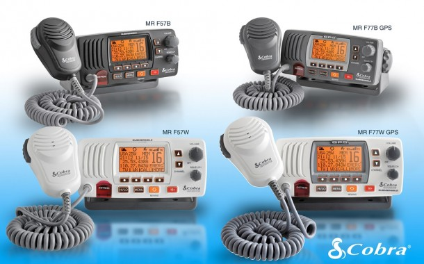 Cobra Electronics Announces 2015 Line of VHF Marine Radios In Time for Upcoming Boating Season