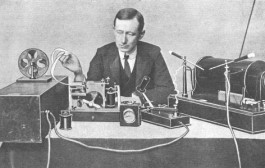 First Wireless transmission marked with recreation