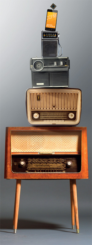 A Radio with No Analogue Parts ?