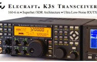 First Video ! New Elecraft K3S Transceiver