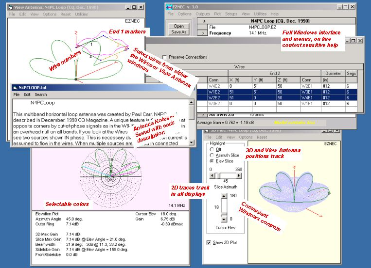 EZNEC Antenna Software by W7EL