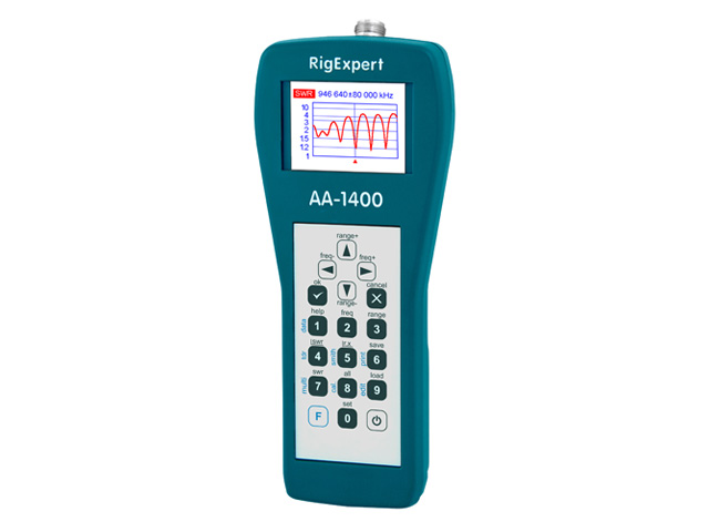 RigExpert AA-1400 – Antenna Analyzer (0.1 to 1400 MHz)