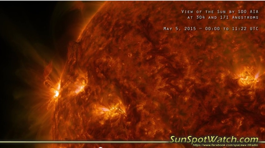 What's Coming on the Sun: May 5 2015