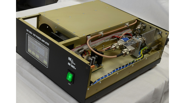 OM1002+ OM Power Solid State amplifier for 144 MHz VHF band