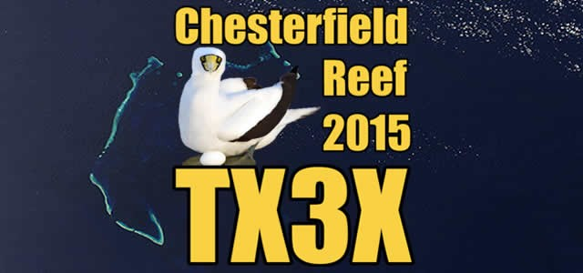 TX3X Chesterfield Islands News 1 June 2015