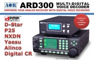 ARD 300 MULTI-DIGITAL VOICE DECODER