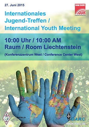 IARU R1 International Youth Meeting – HAM Radio Friedrichshafen