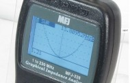 MFJ-226 – 1-230 MHZ ANTENNA EXPECT TIMES GRAPHIC ANALYZER