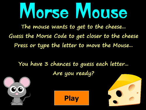 The Morse Mouse – Educational Fun with Amateur Radio