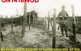 ON1418WOD – Special WW1 Event Station