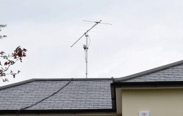 TVI ? Professor and wife put up 3.8metre aerial as part of amateur radio hobby
