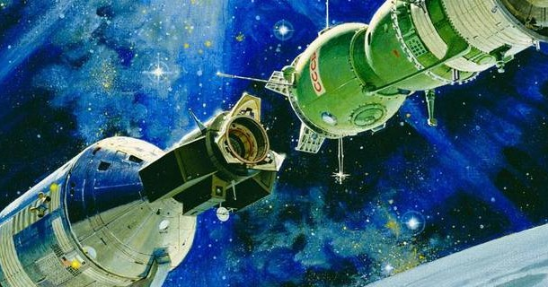 SSTV Images from Space Will Commemorate 40th Apollo-Soyuz Mission Anniversary