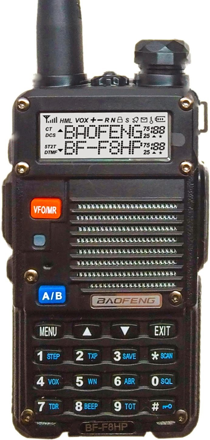 Baofeng BF-F8HP Dual Band UHF/VHF – 8 Watt output [ Video ]