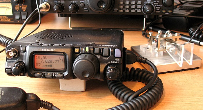 Field Day 2015 – QRP with the Yaesu FT-817 in the Pouring Rain