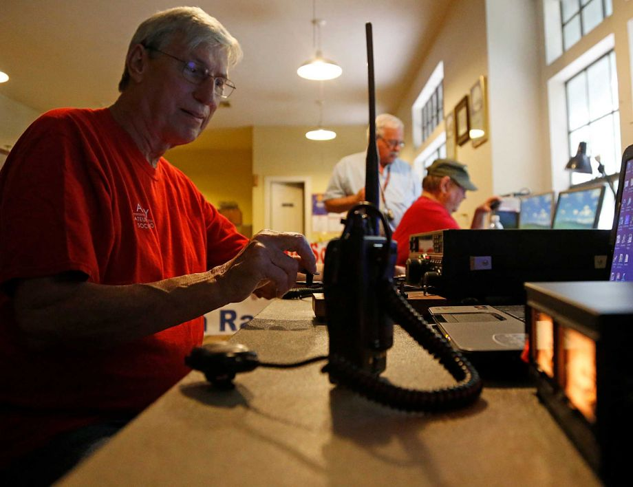 Ham radio operators ready to help as needed