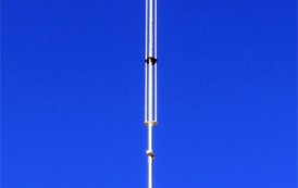 HF Vertical Antenna – Cushcraft R9 covers 6,10,12,15,17,20,30,40,80 Meters