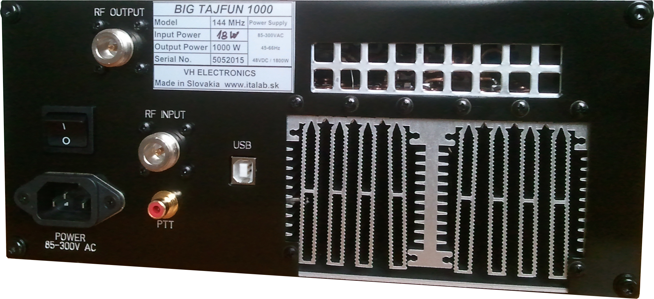 New ! BIG TAJFUN 1000 144 MHz - 1KW