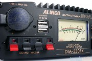 NEW Alinco DM330FXE 30A Supply with USB ports