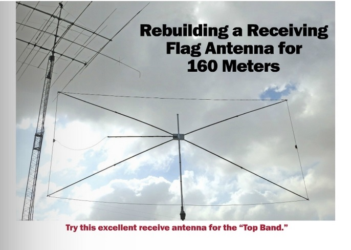 Rotatable 160 Meter Receiving Loop - WB6RSE Wins July QST Cover
