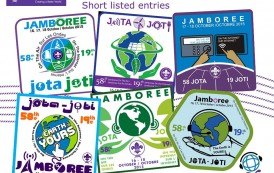 Here are the finalists for the World JOTA-JOTI logo for 2015