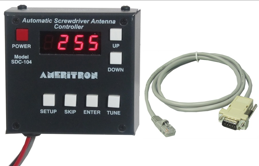 New ! Ameritron SDC-104 Screwdriver Controller