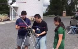 Students receive FUNcube-1 (AO-73)