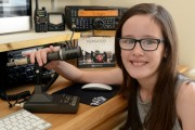 10-year-old Holly becomes youngest person in Wales to pass ham radio licence exam