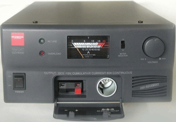 GZV6000 Switching Mode DC Power Supply – 60 Amp