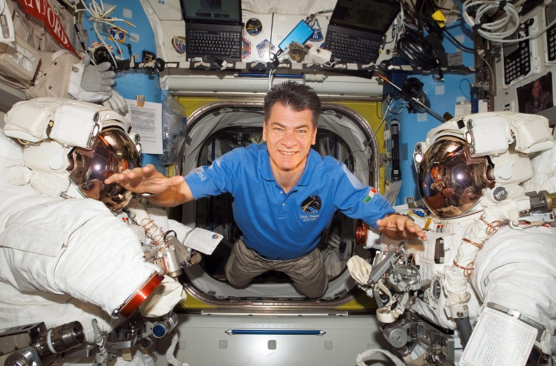 Third spaceflight for astronaut Paolo Nespoli IZ0JPA