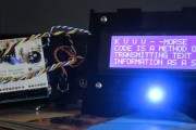 Arduino CW Decoder video by M0TNG