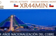XR44MIN – SPECIAL ACTIVITY – CHILEAN MINING MONTH