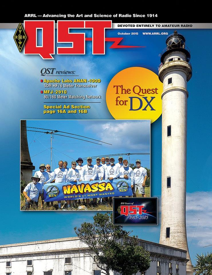 The October Edition of Digital QST is Now Available