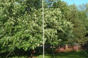 Solo antenna mast erecting – Ham Radio know how