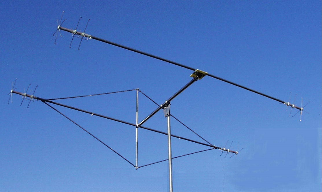 MQ-1 TGM 3-Band 2-element Hybrid Quad Antenna – 10,15,20 Meters