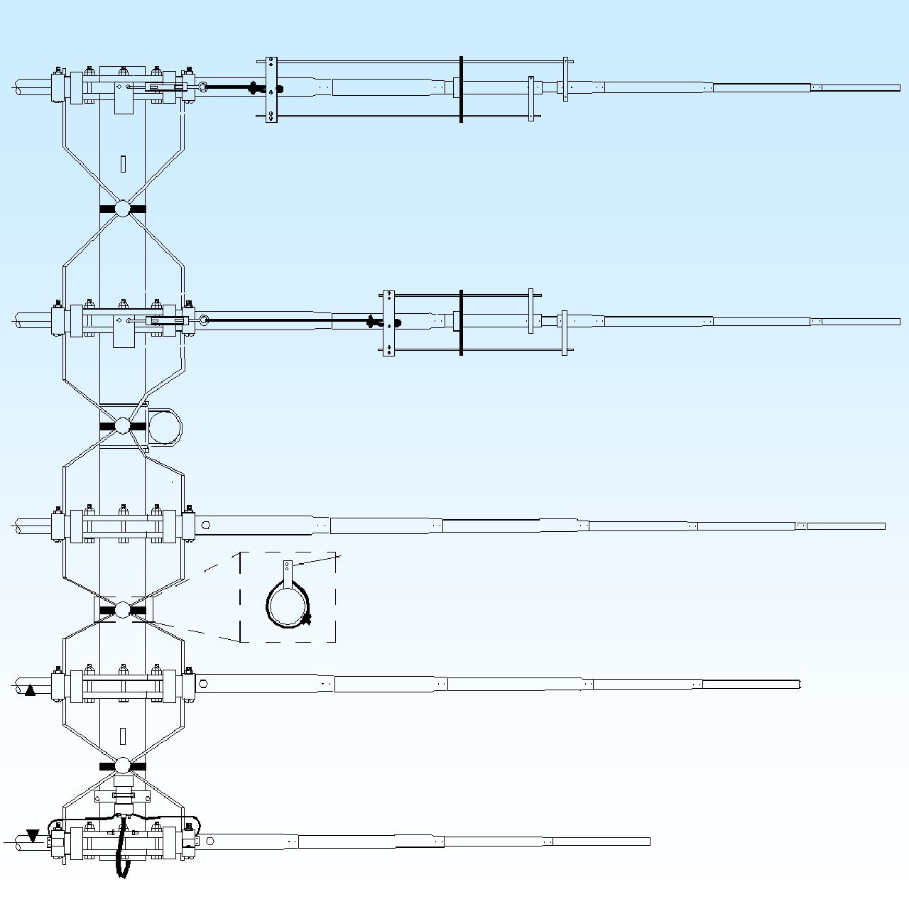 6-10LP5-125 – M2 Antenna –  7 and 10 MHz
