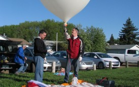 Two Aussie Balloons Carrying Ham Radio Payloads Launched from California