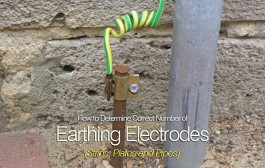 How to Determine Correct Number of Earthing Electrodes (Strips, Plates and Pipes)