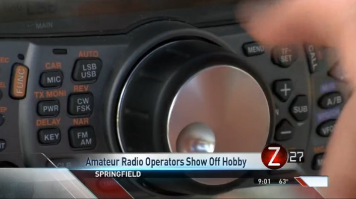 Amateur Radio Operators Show Off Hobby in Springfield