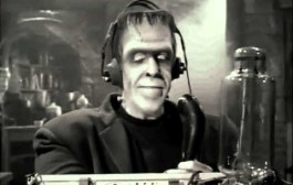 Herman Munster on Ham Radio